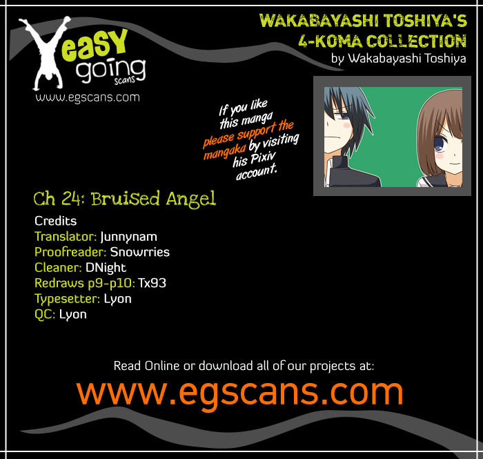 Wakabayashi Toshiya's 4-koma Collection 24 Page 1