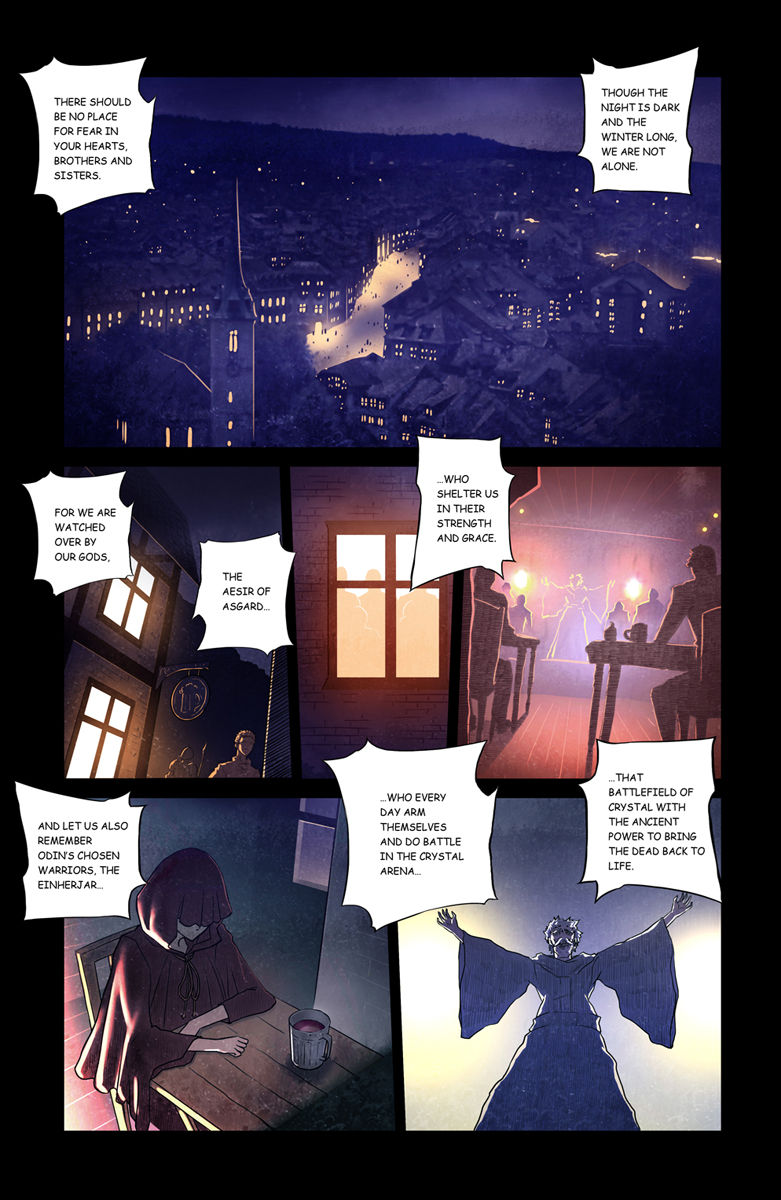 Crystal Arena 1 Page 1