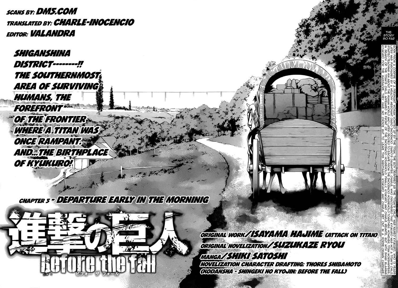 Shingeki no Kyojin - Before the Fall 5 Page 3