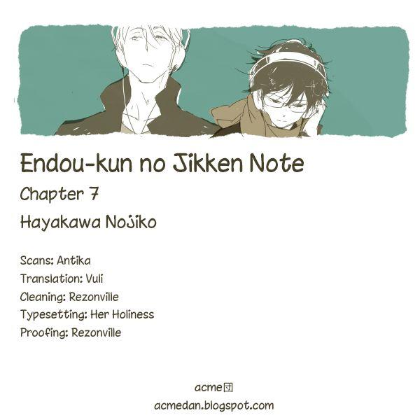 Endou-kun no Jikken Note 7 Page 1