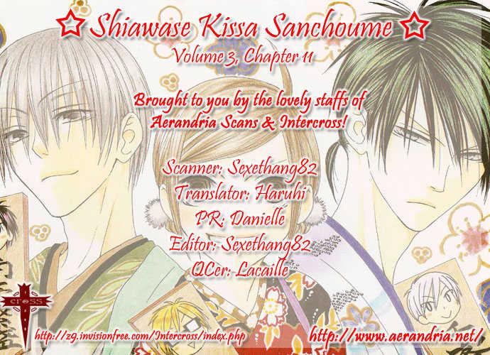 Shiawase Kissa Sanchoume 11 Page 3