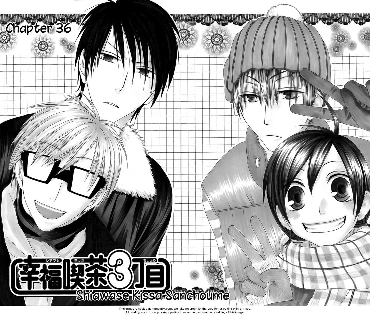 Shiawase Kissa Sanchoume 36 Page 2
