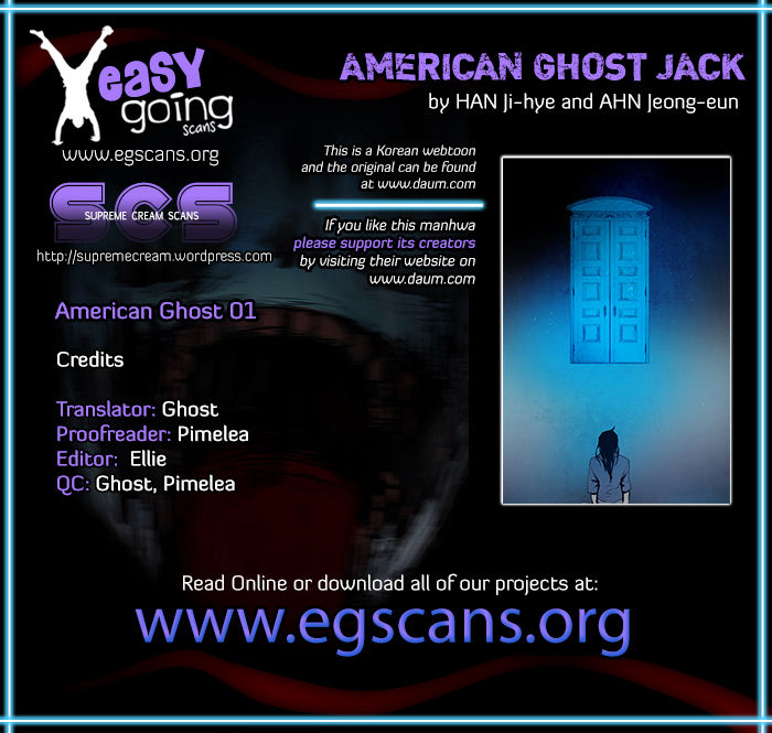 American Ghost Jack 1 Page 1