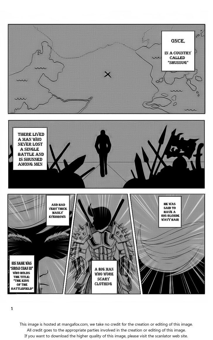 Sir-Ojii-Chan 0 Page 1