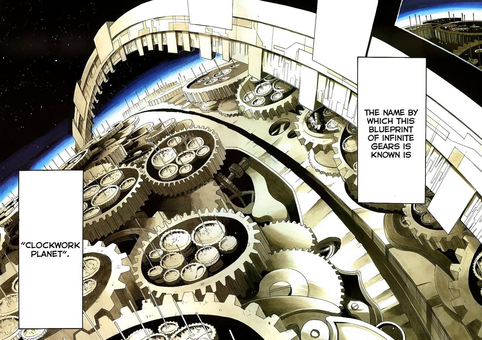Clockwork Planet 1 Page 2