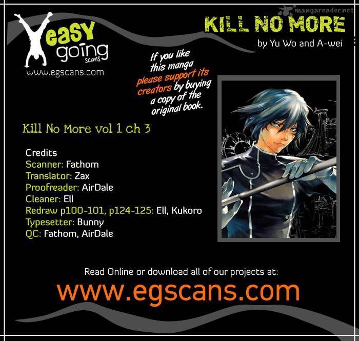 Kill No More 3 Page 1