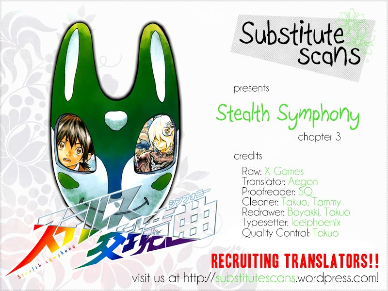 Stealth Symphony 3 Page 1