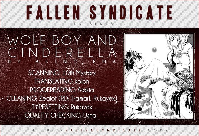 Wolf Boy and Cinderella 0 Page 1