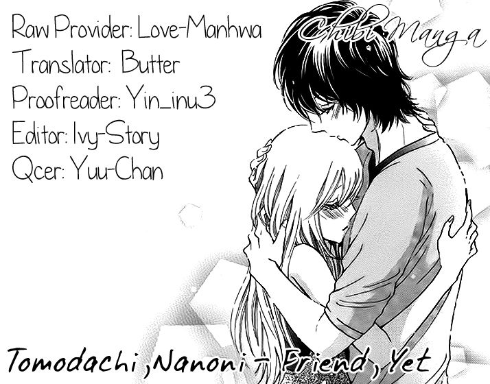 Tomodachi, Nanoni - Friend, Yet 0 Page 1