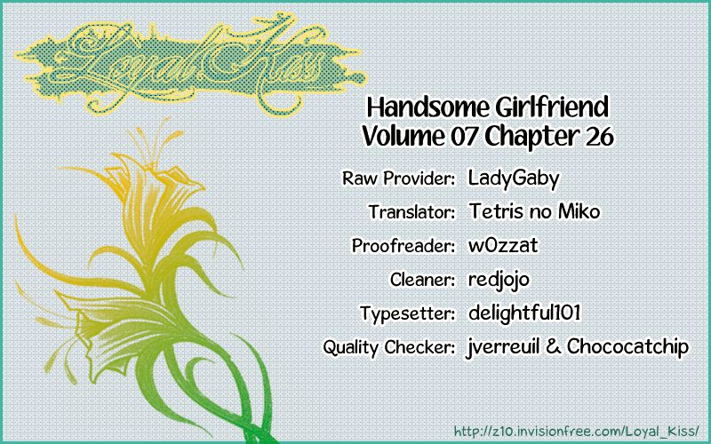 Handsome Girlfriend 26 Page 1