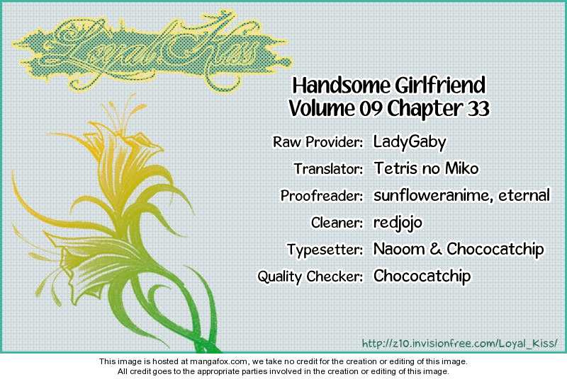 Handsome Girlfriend 33 Page 1