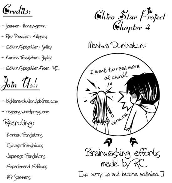 Chiro Star Project 4 Page 1
