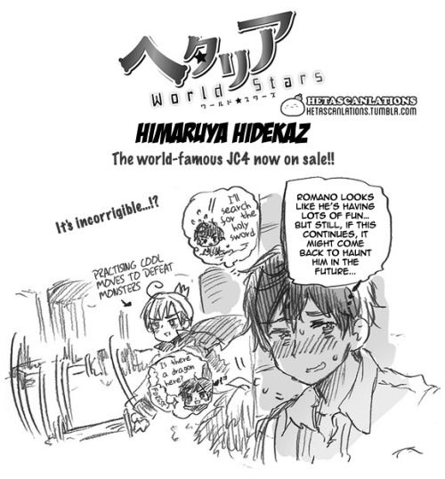 Hetalia World Stars 280 Page 1