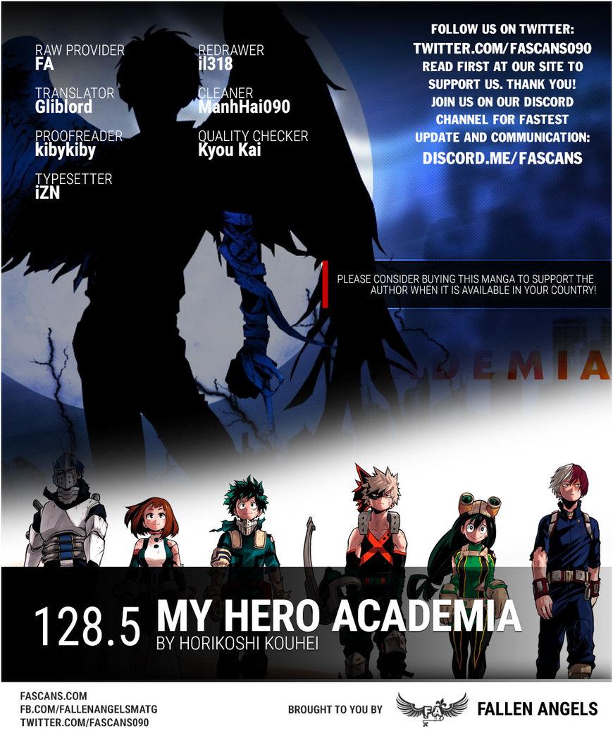 Boku no Hero Academia 128.5 Page 1
