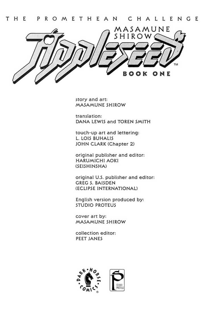 Appleseed 1 Page 1