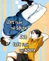 Shingeki no Kyojin dj - Minami no Levi to Kita no Eren