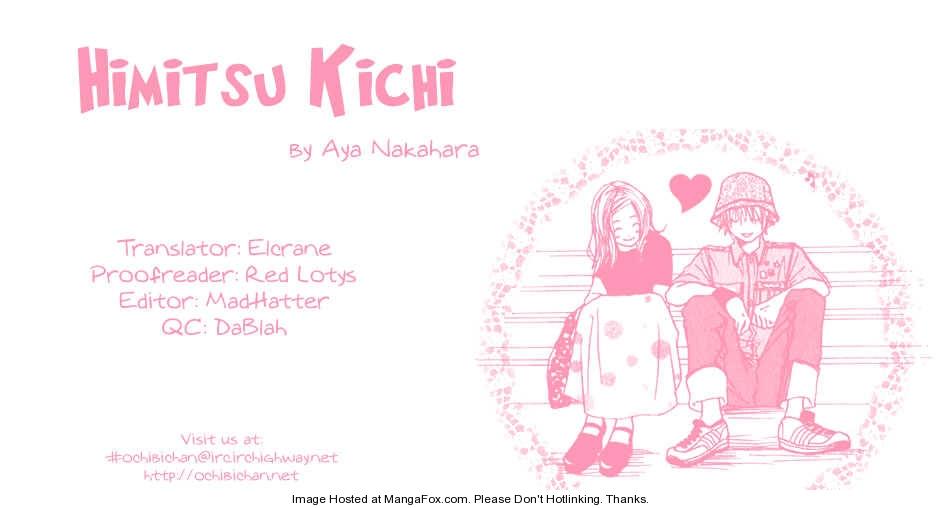 Himitsu Kichi 4 Page 1