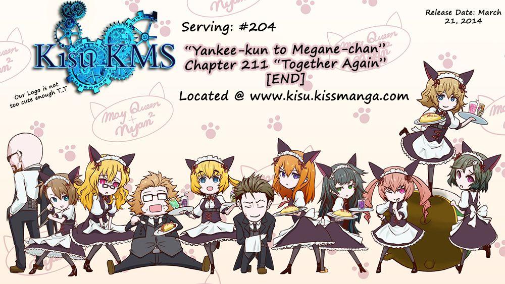 Yankee-kun to Megane-chan 211 Page 1