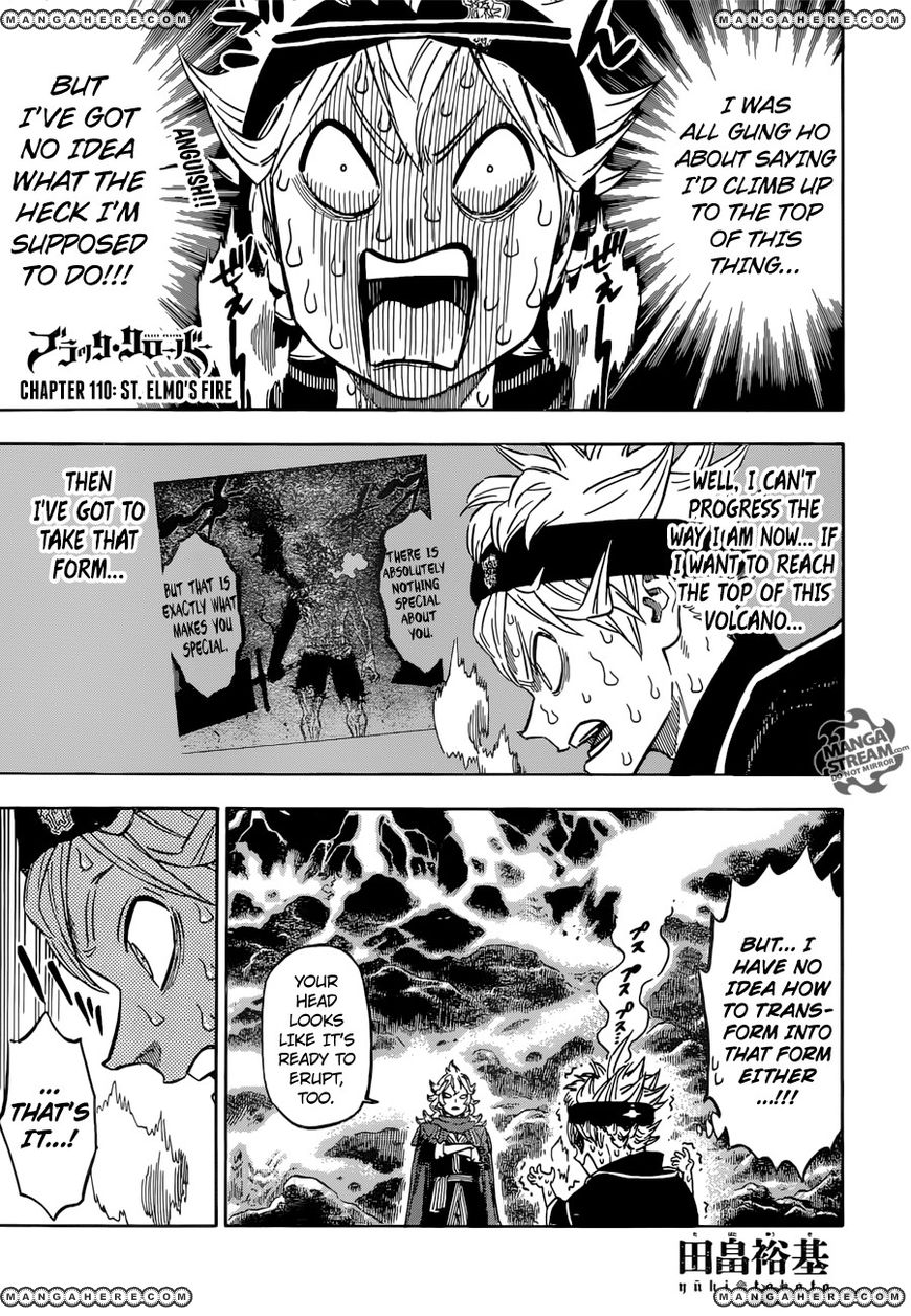 Black Clover 110 Page 1