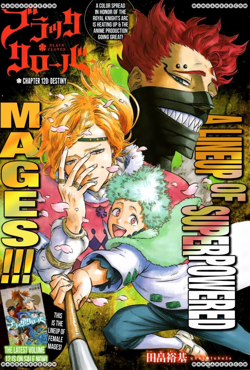 Black Clover 120 Page 1