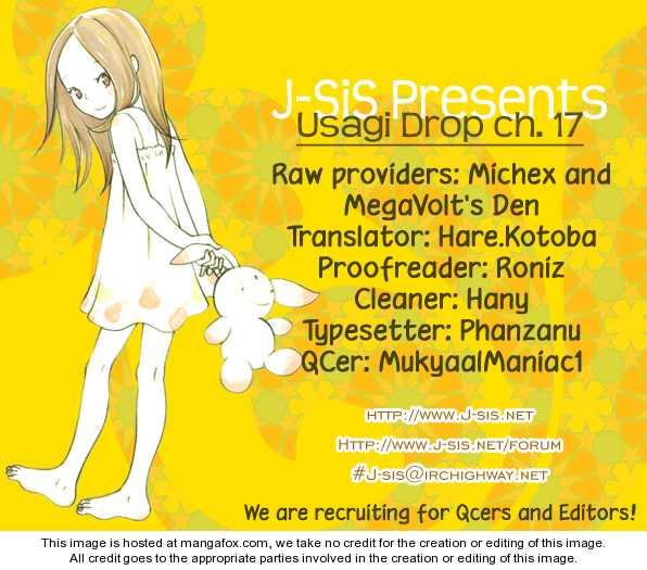 Usagi Drop 17 Page 1