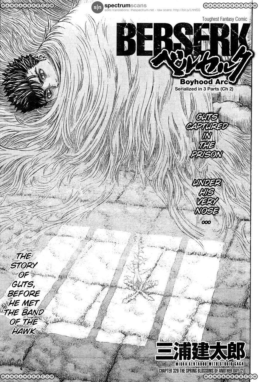 Berserk 329 Page 1