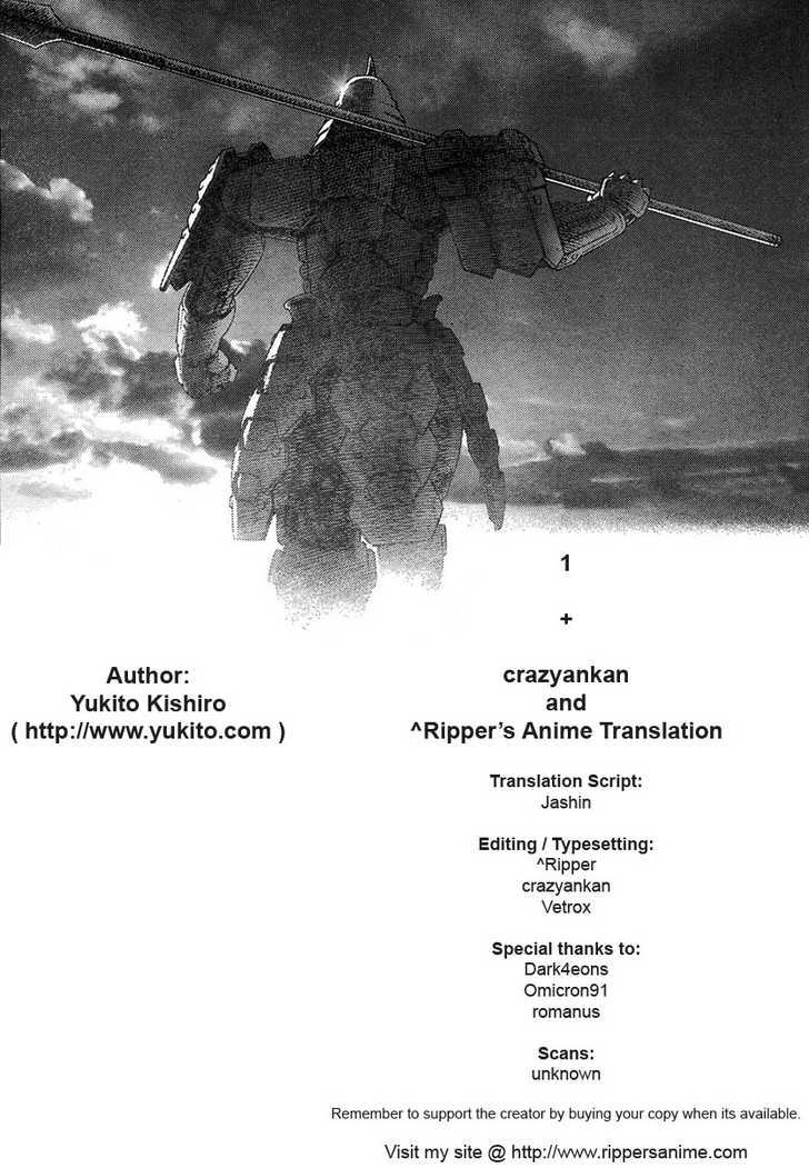 Battle Angel Alita 0 Page 1