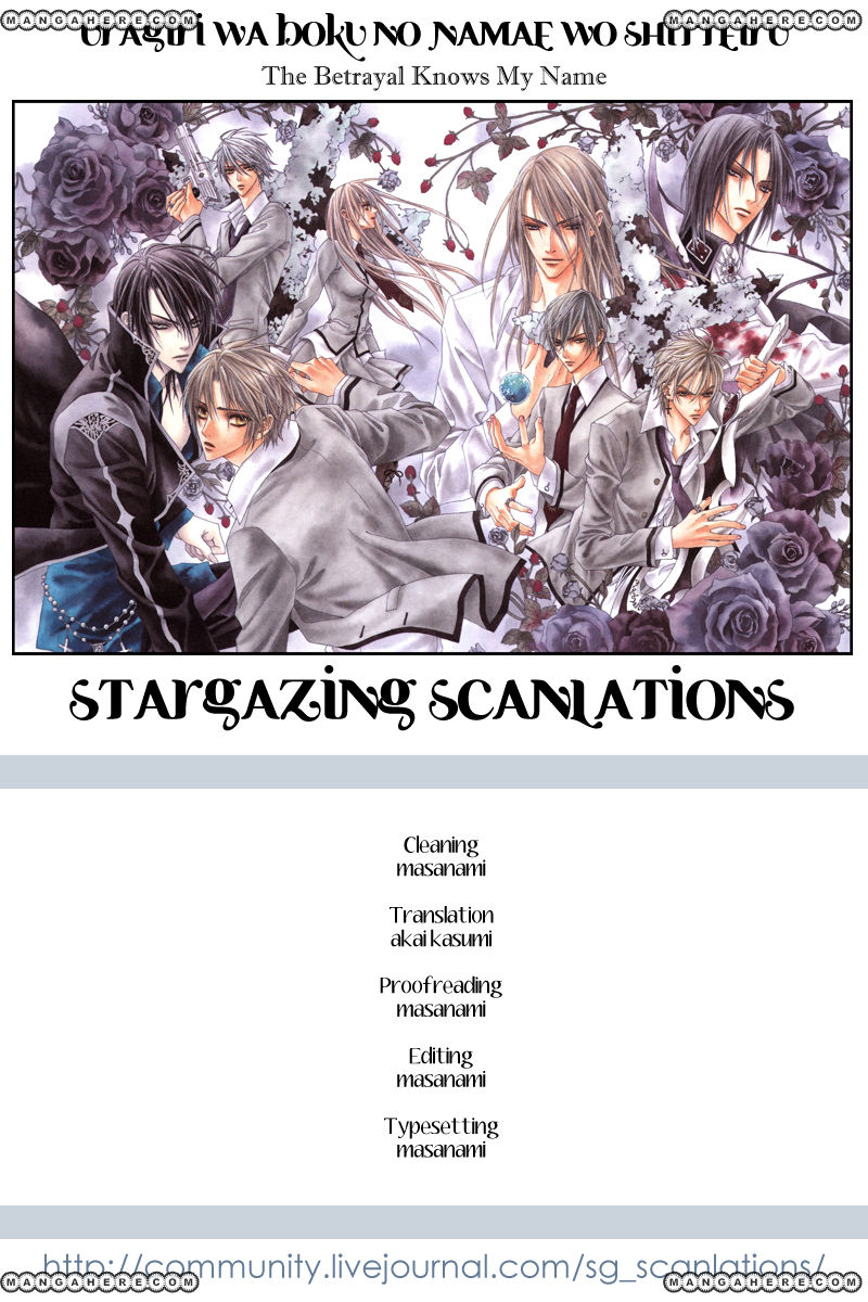 Uragiri wa Boku no Namae wo Shitteiru 20.5 Page 1