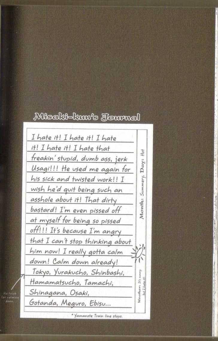 Junjou Romantica 20 Page 1