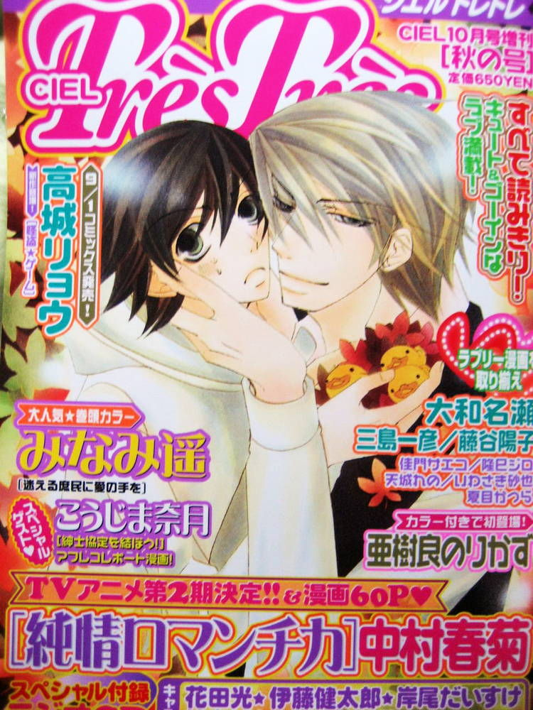 Junjou Romantica 50 Page 2