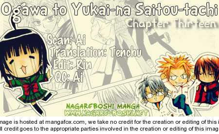 Ogawa to Yukai na Saitoutachi 13 Page 1