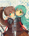 Kantai Collection dj - Sister Ship Skinship