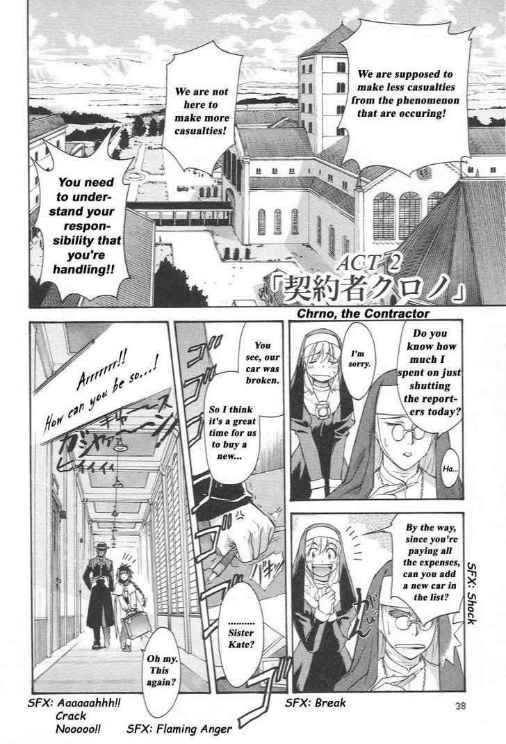 Chrono Crusade 2 Page 2