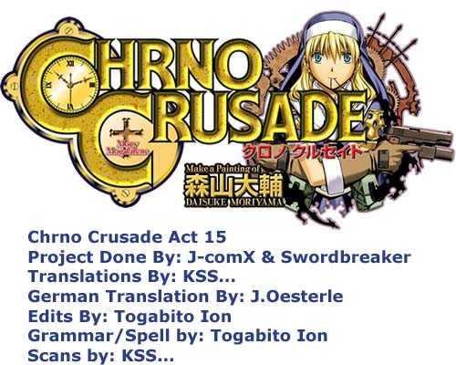 Chrono Crusade 15 Page 1