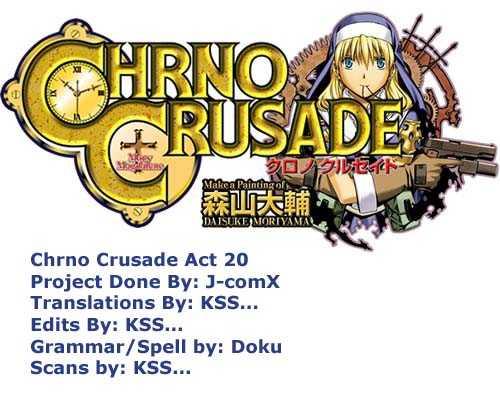 Chrono Crusade 20 Page 1