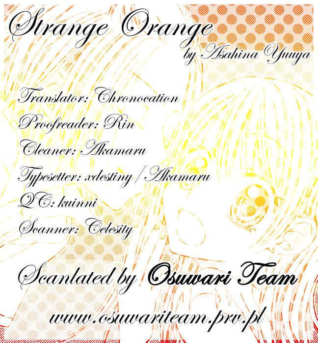 Strange Orange 3 Page 1
