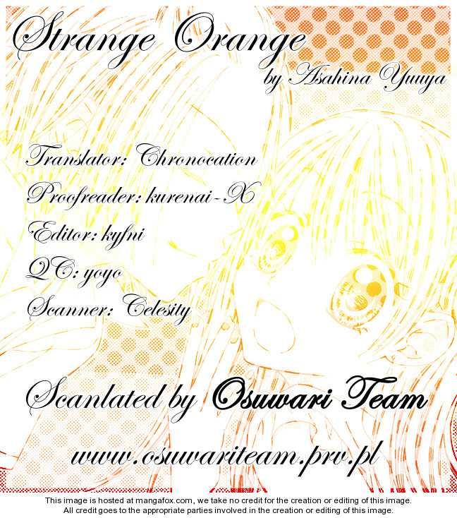 Strange Orange 6 Page 1
