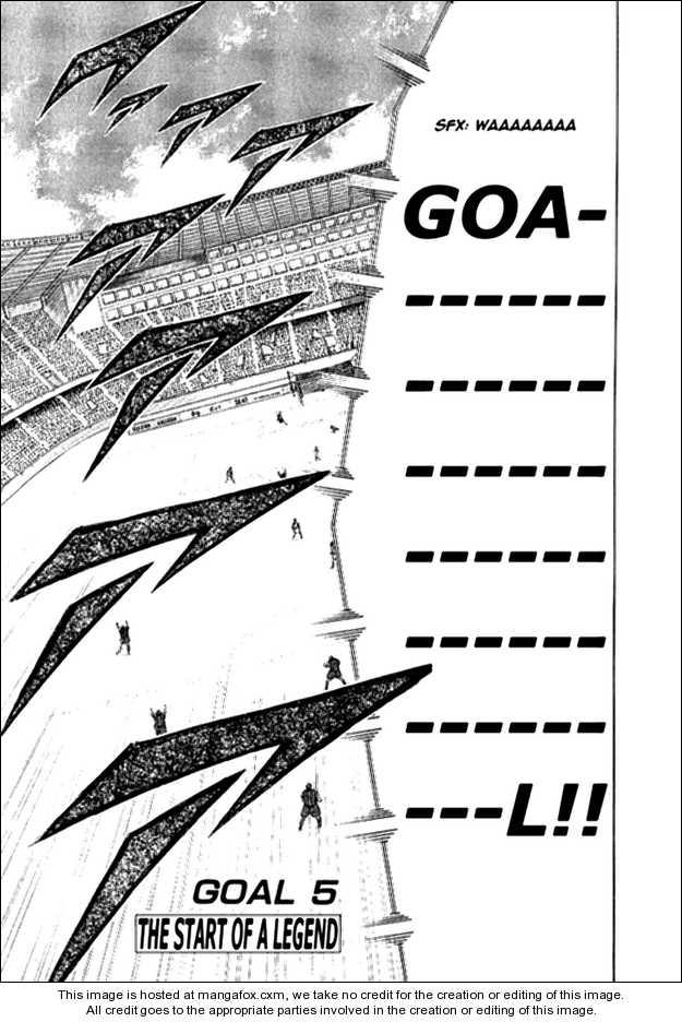 Captain Tsubasa Golden-23 5 Page 1