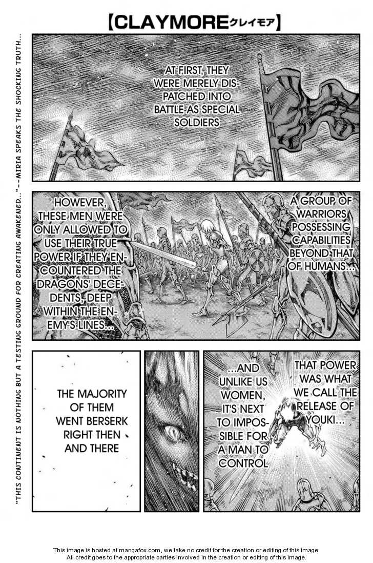Claymore 80 Page 1