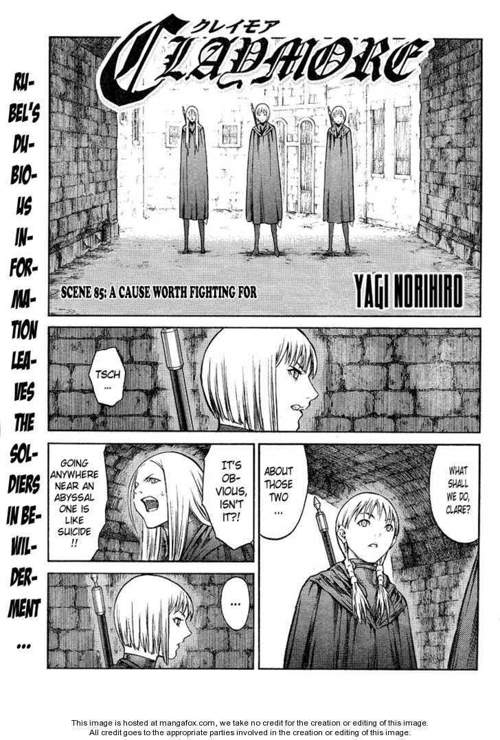 Claymore 85 Page 3