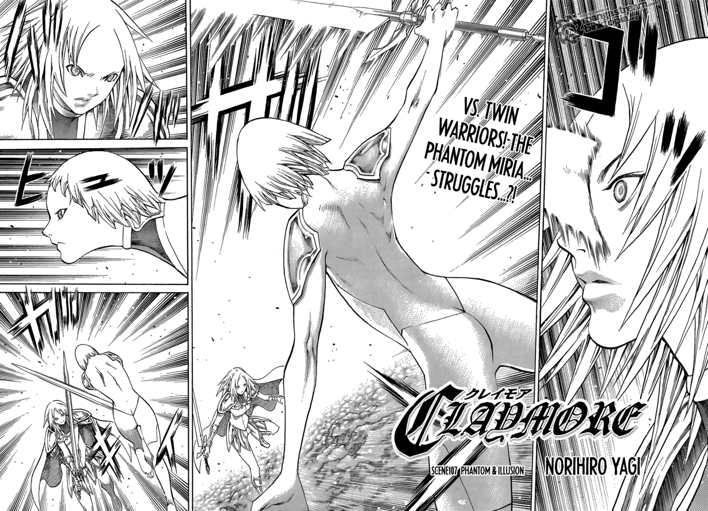 Claymore 107 Page 4