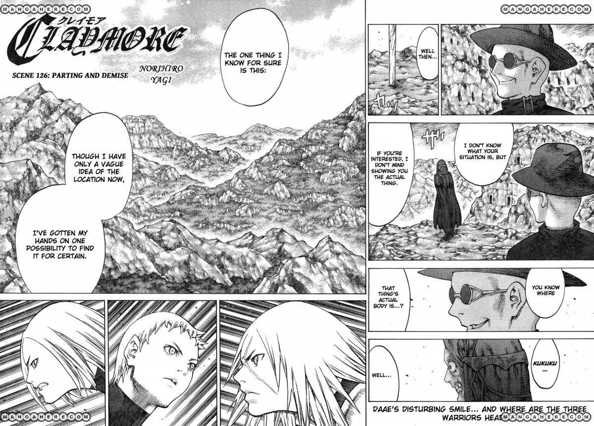 Claymore 126 Page 1