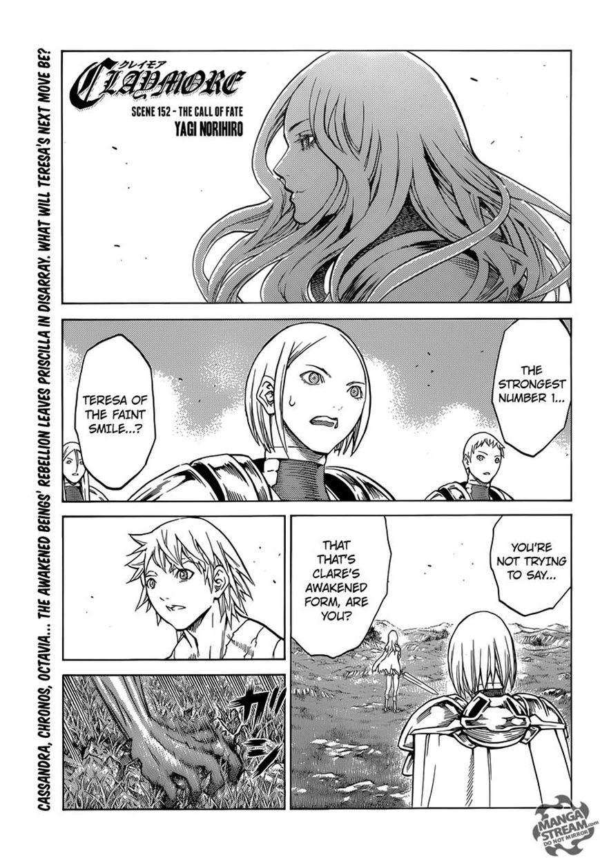 Claymore 152 Page 1