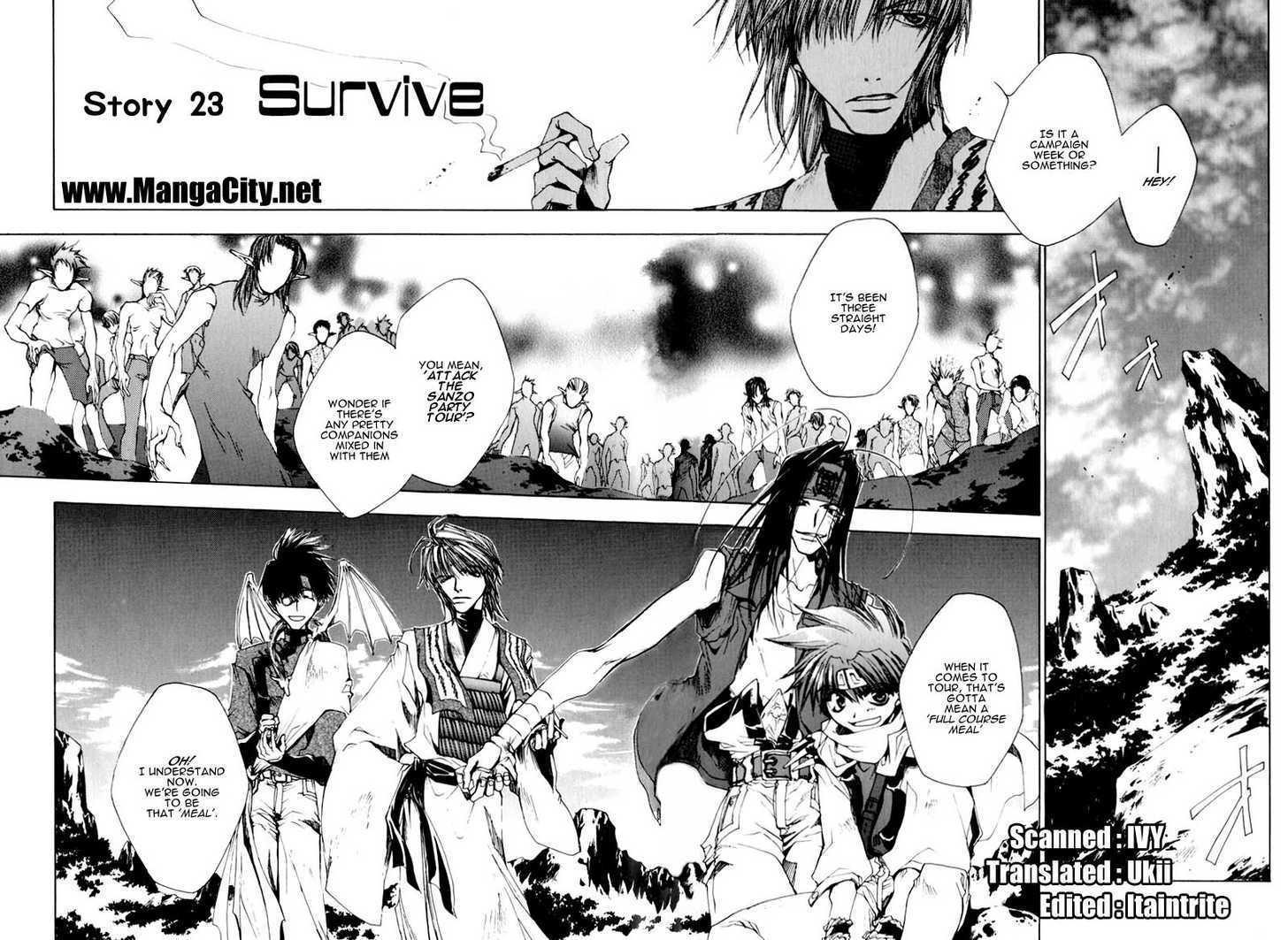 Saiyuki 23 Page 2