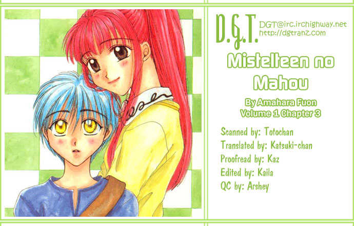 Mistelteen no Mahou 3 Page 1