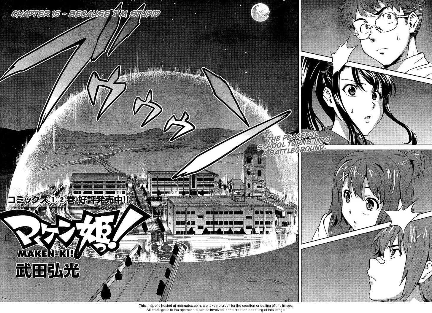 Maken-Ki! 15 Page 2