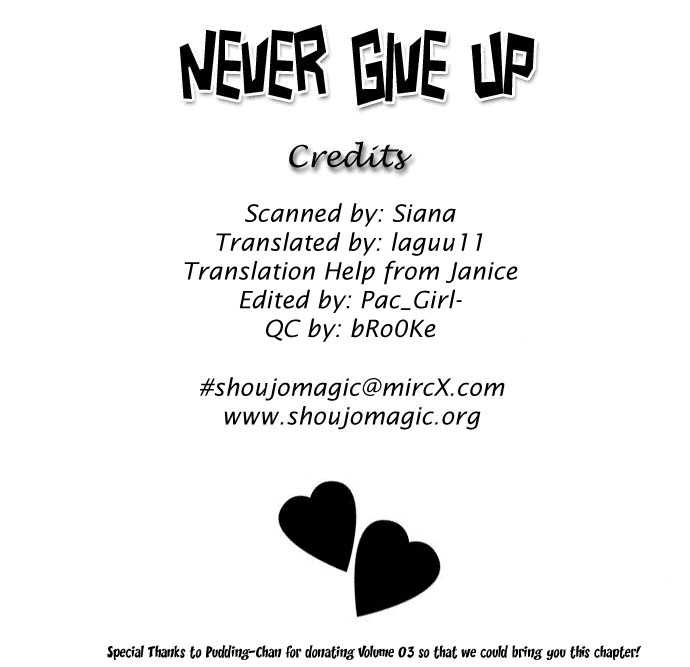 Never Give Up! 18 Page 2