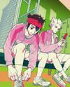 Inazuma Eleven dj - Okubyomono to Kuchi Zuke