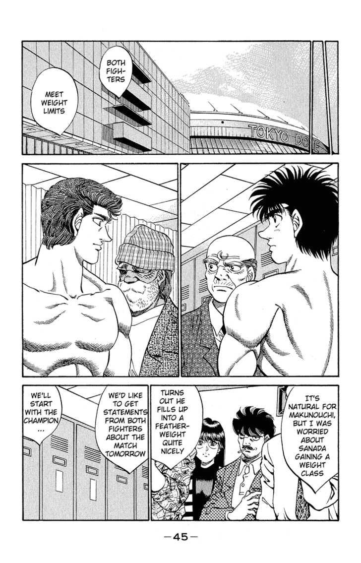 Hajime no Ippo 299 Page 3