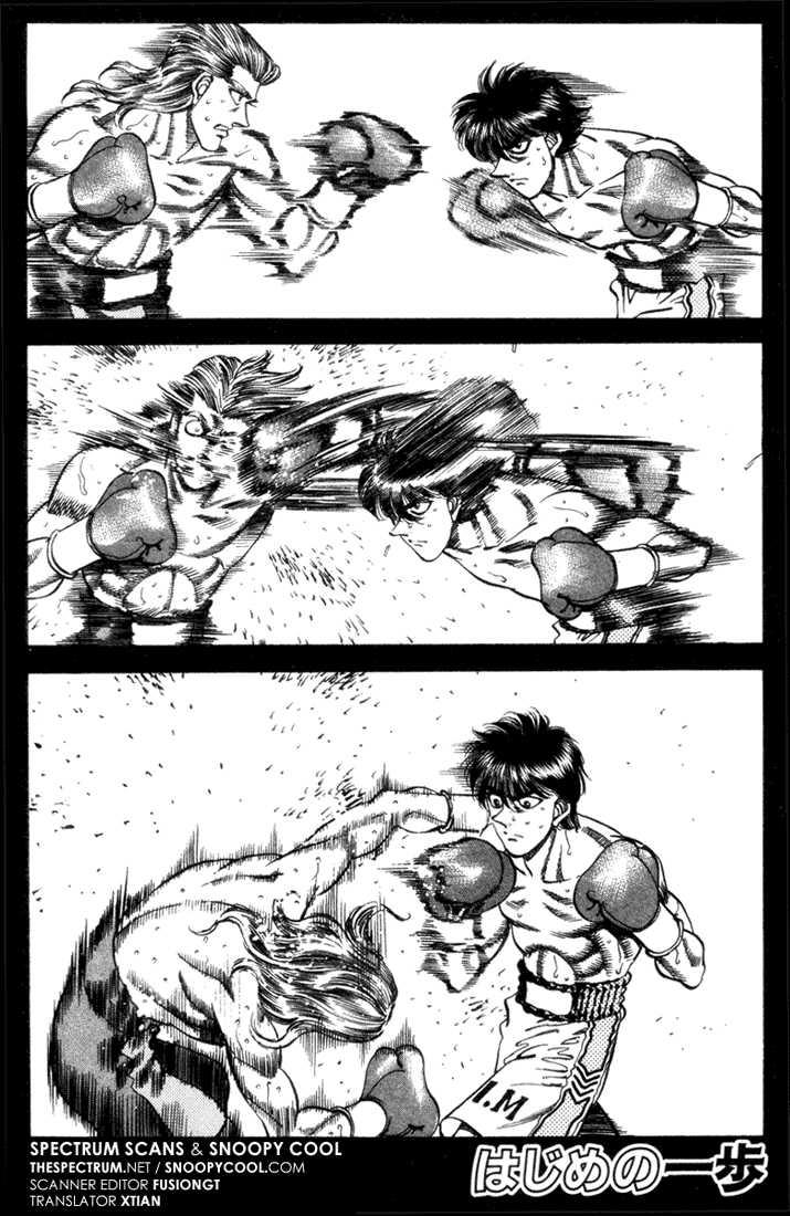 Hajime no Ippo 319 Page 1